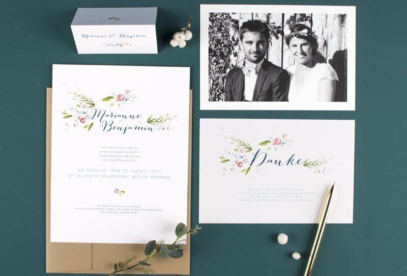 Rosemood – einzigartige Hochzeitseinladungen mit einem ganz besonderen Service