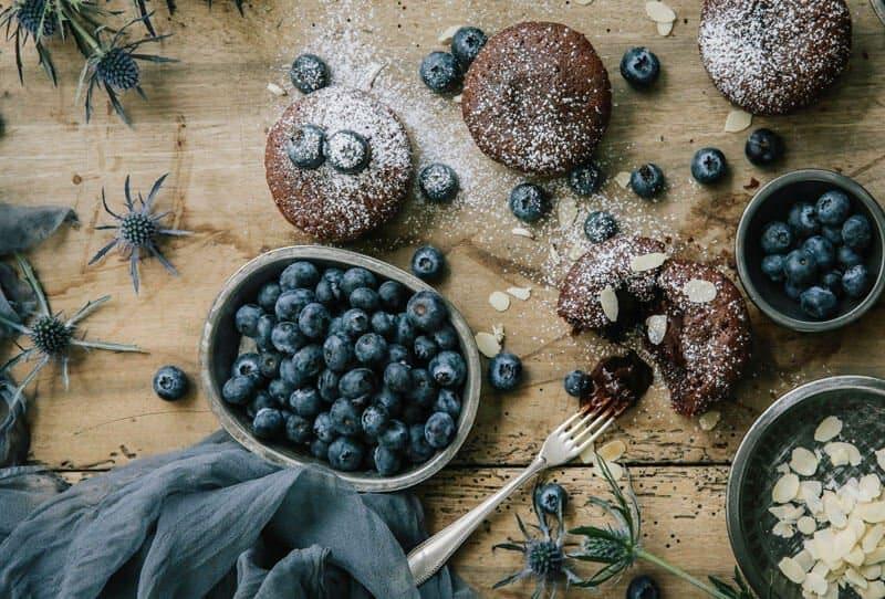 Mini Schoko-Cakes mit flüssigem Kern von Comme Soie