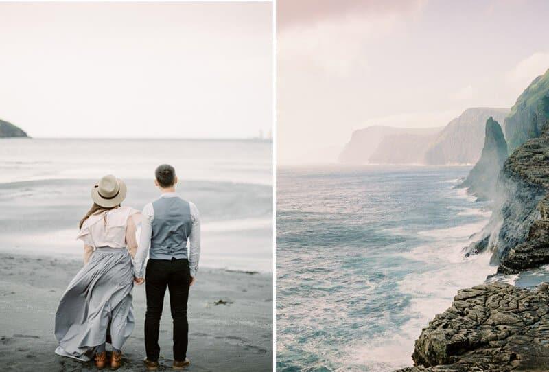 Natürliches Elopement auf den Färöer-Inseln von Mikhail Balygin