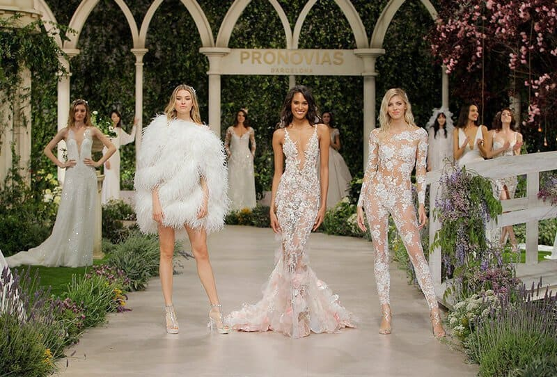 In Bloom – Pronovias Fashion Show Barcelona Bridal Week