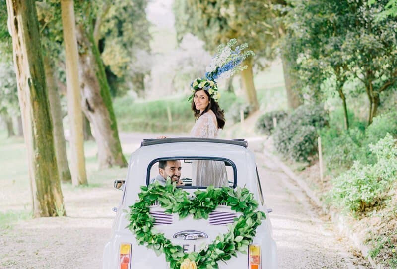 Mediterrane Hochzeit in der Toskana von Elias Kordelakos Photography