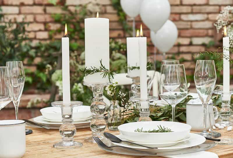 Pure Scandi Wedding – Dekorationsideen von Depot