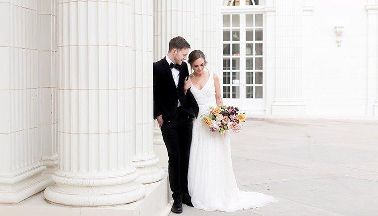 Hochzeitsinspirationen aus der Alten Welt von Amy Caroline Photography