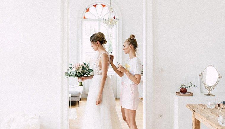 Die Vorfreude einer Braut von Julia Mühlbauer