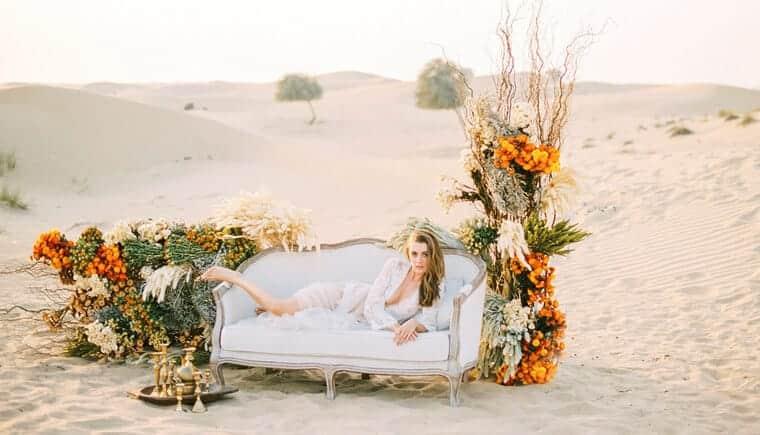 Sinnliches Wüsten Boudoir von Lizelle Goussard