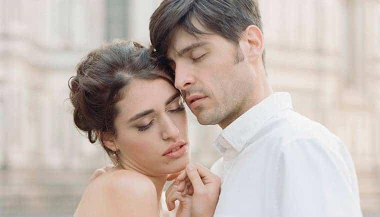 Liebe im Glanz des Domes von Florenz von Erika Parker Photography