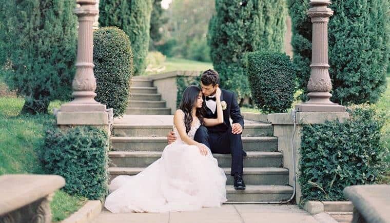 Anmutige Inspirationen für eine Fine Art Hochzeit von Besame Floral Events und Carrie King