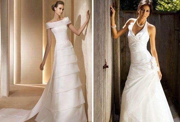 Brautkleid-Ausschnitte – so sorgst du für ein Top Dekolletè