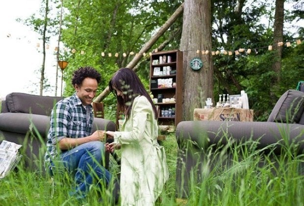 Ein Feuerwerk an Kreativität – der Heiratsantrag von Shane an seine Mikaela