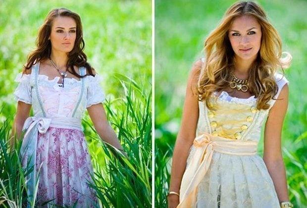 Anina W, Brautdirndl und Hochzeitsdirndl, Hochzeitstracht
