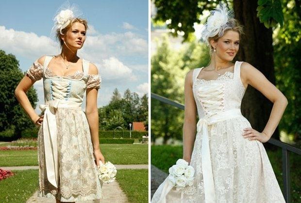 Alpenherz, Hochzeitsdirndl und Brautdirndl, Hochzeitstracht, Trachtenhochzeit