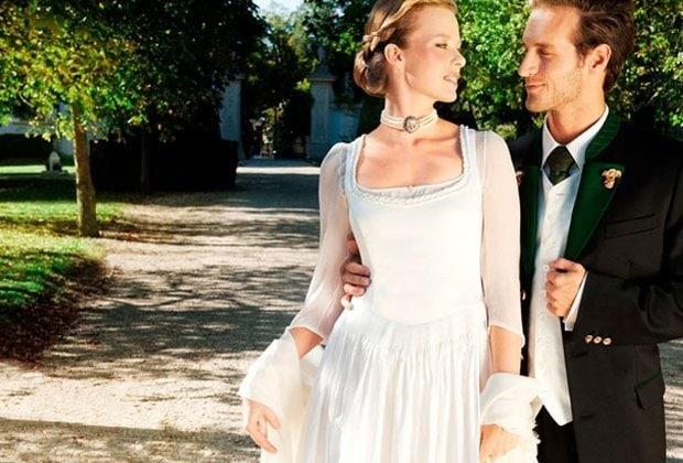 Gössl, Brautdirndl und Hochzeitsdirndl, Hochzeitstracht