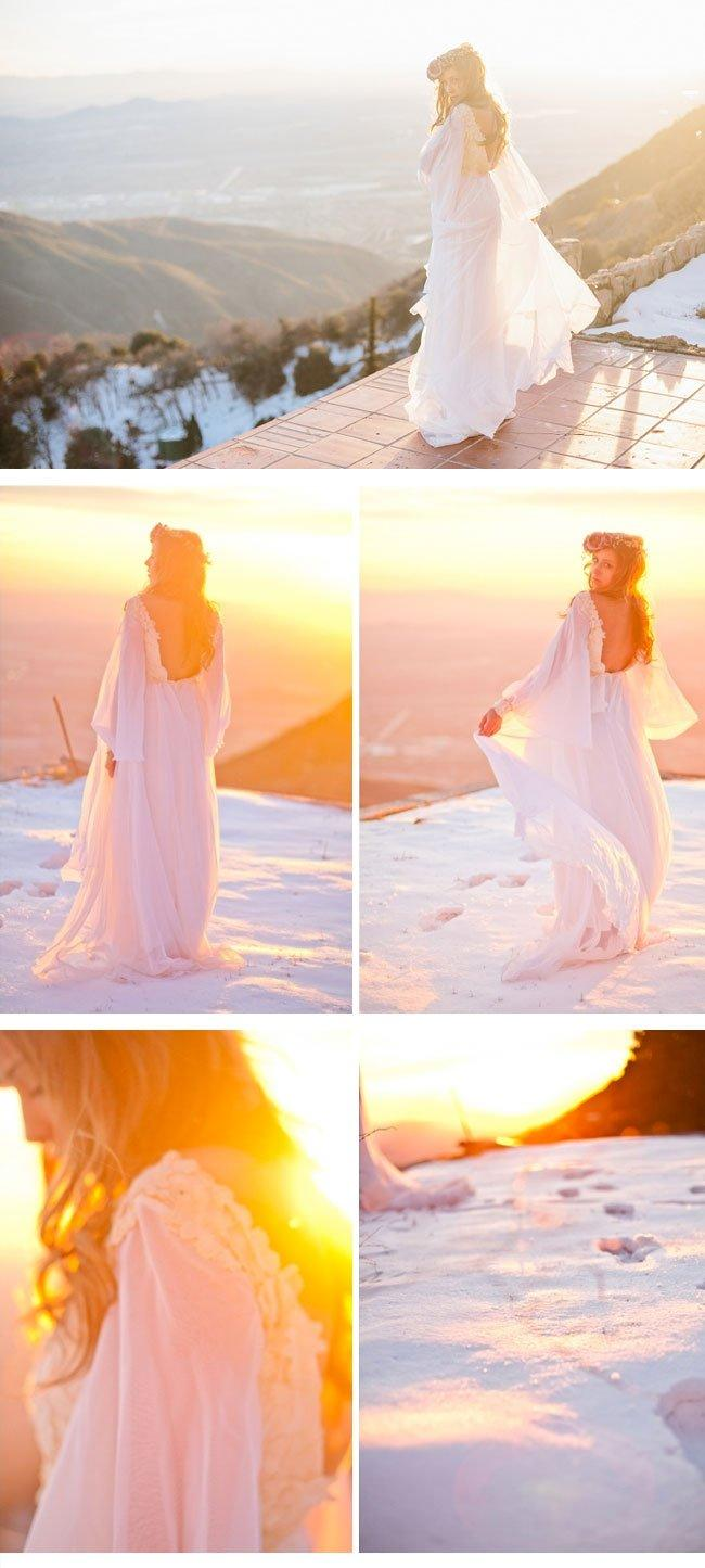 bohemian winter bride7 winterhochzeit