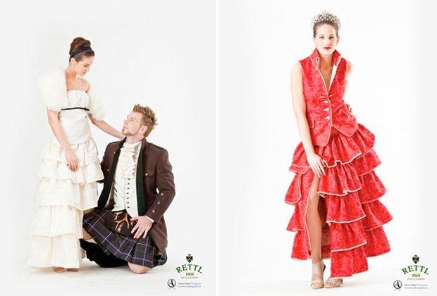 Rettl, Hochzeitstracht, Kilts und Hochzeitskollektion