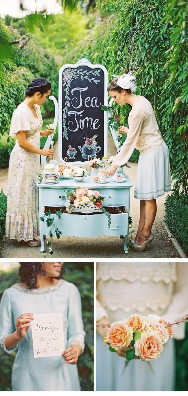 bridesmaid party1-hochzeitsblumen