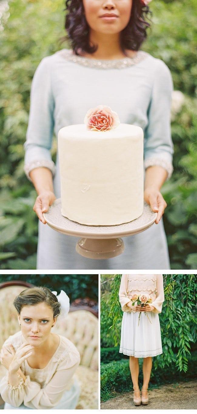 bridesmaid party6-hochzeitstorte