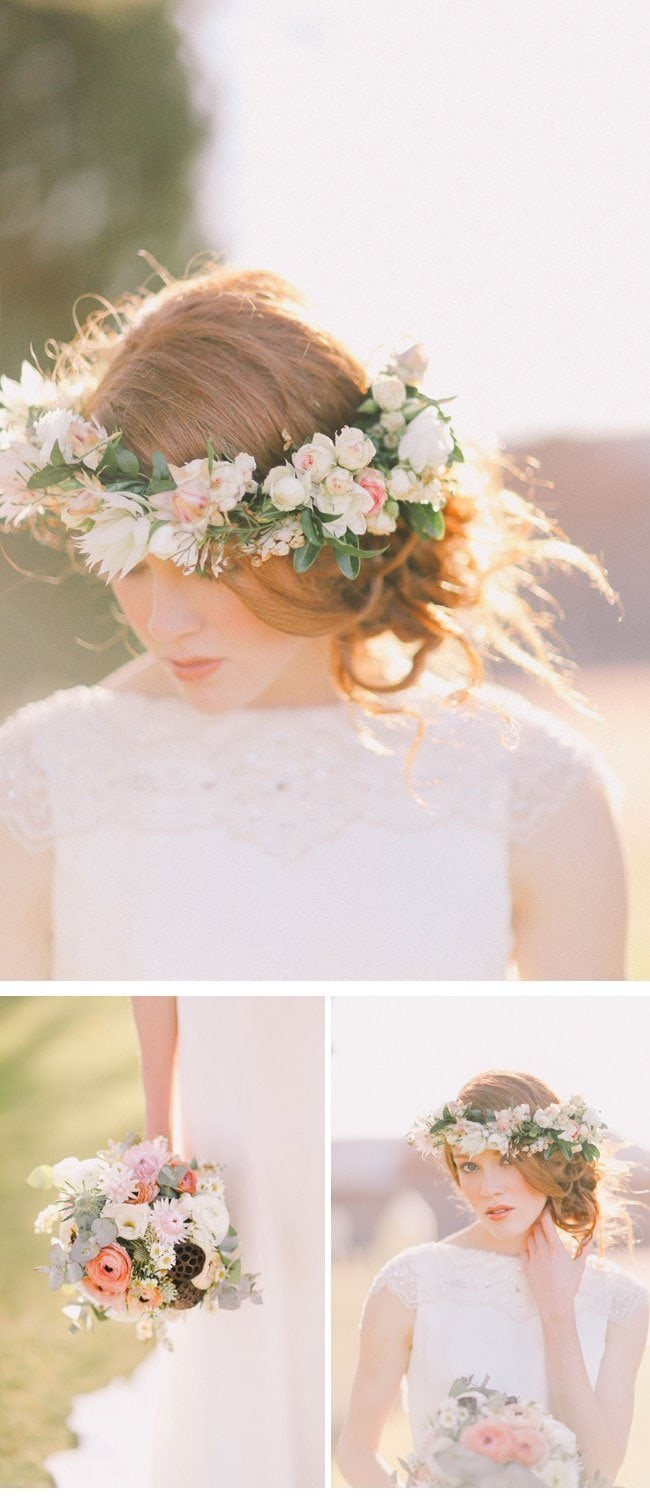 enchanted garden1-Braut-Haarkranz Flower Crown