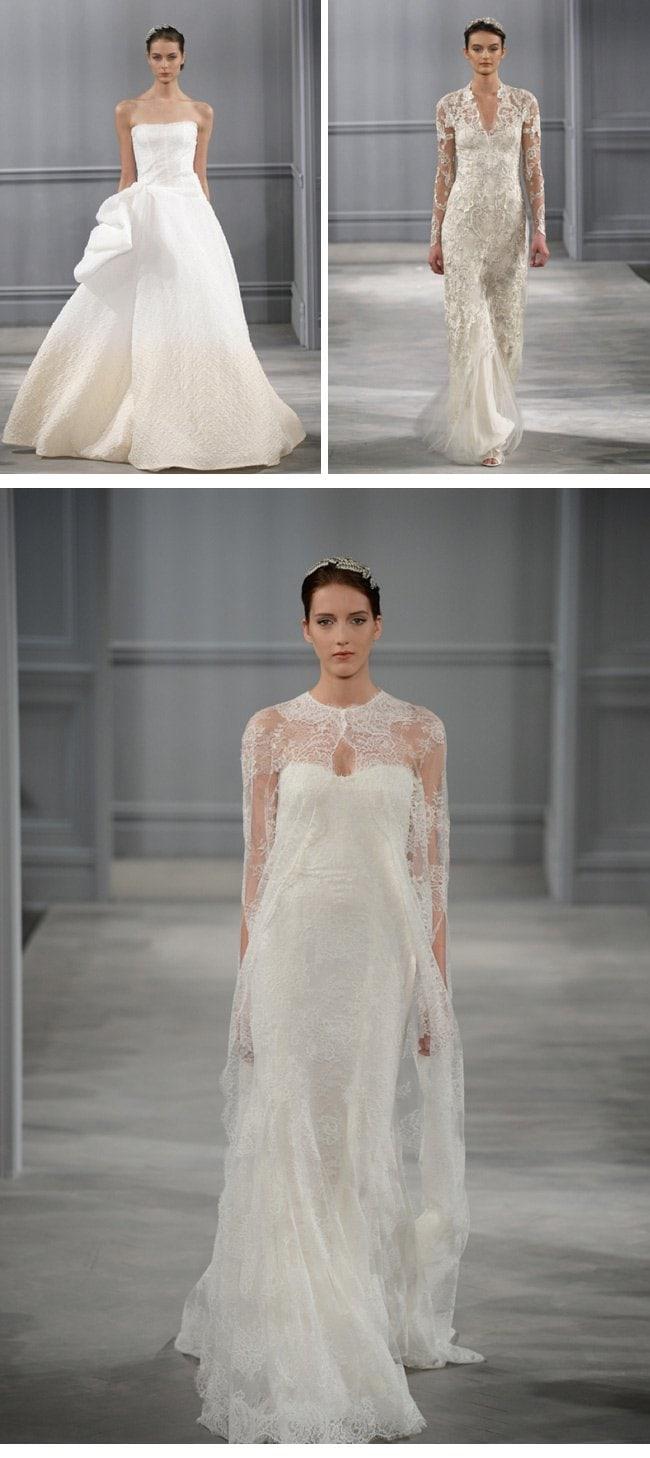 monique lhuillier spring2014-4-wedding dresses