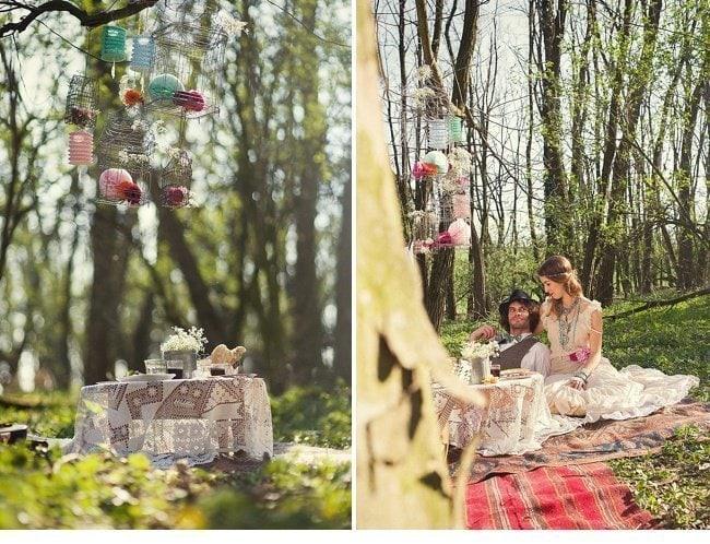 gipsy wedding boho style 0010