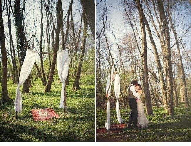 gipsy wedding boho style 0027