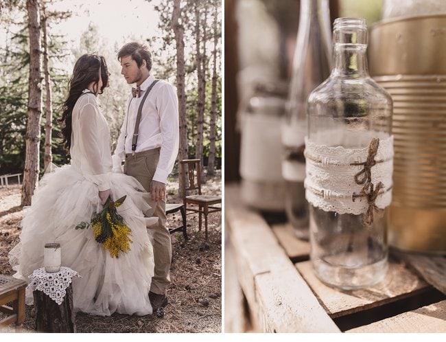 mediterranean forest wedding shoot 0001