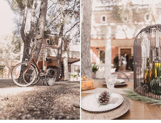 mediterranean forest wedding shoot 0021