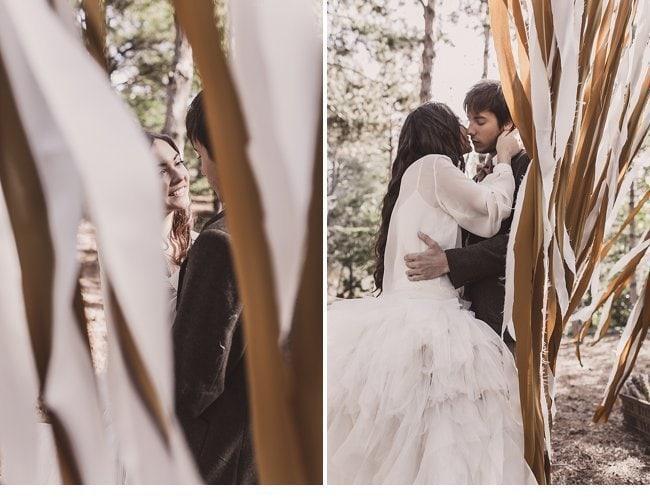 mediterranean forest wedding shoot 0028