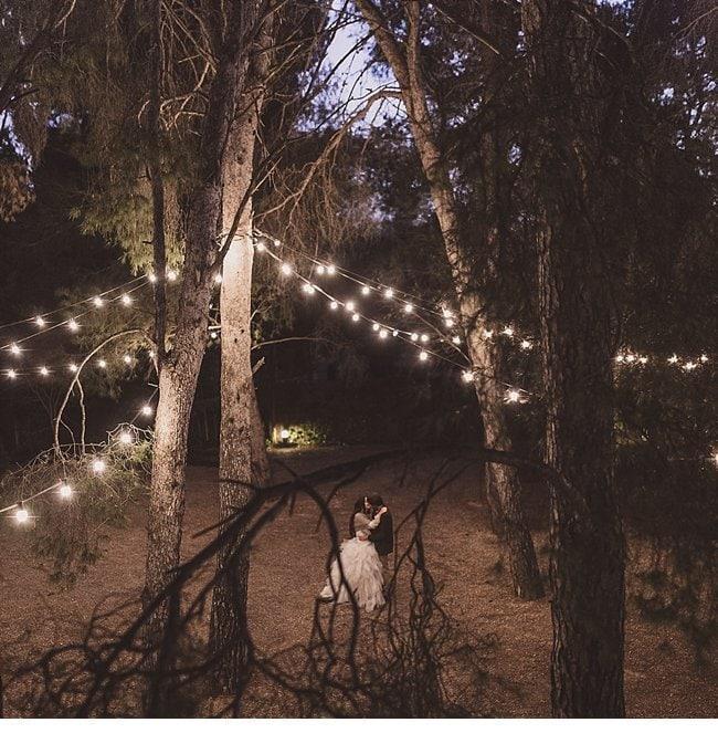 mediterranean forest wedding shoot 0037