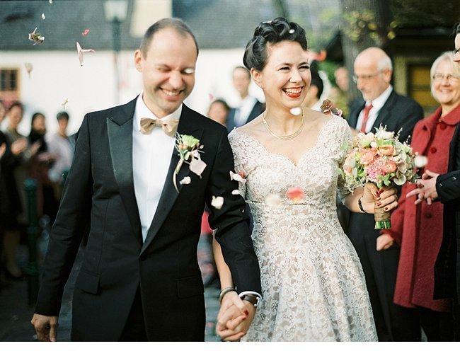 Viennese Autumn Wedding 50s Style 0024