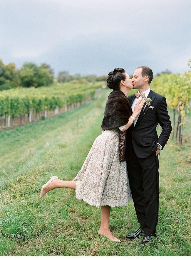 Viennese Autumn Wedding 50s Style 0033