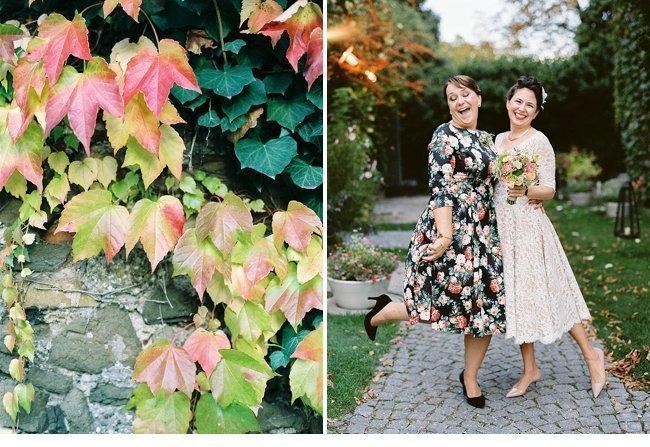 Viennese Autumn Wedding 50s Style 0038