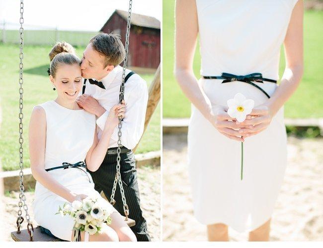 black white wedding inspiration 0013