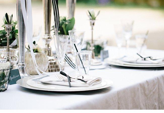 black white wedding inspiration 0014