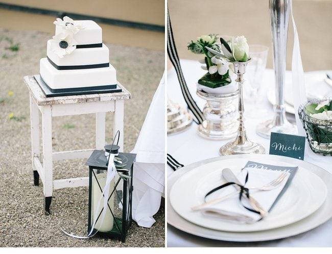 black white wedding inspiration 0018