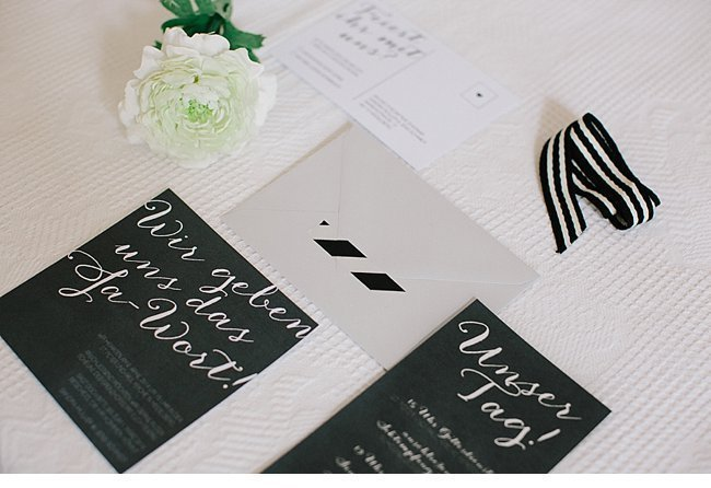 black white wedding inspiration 0020