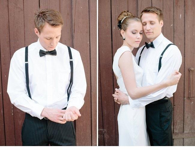 black white wedding inspiration 0021
