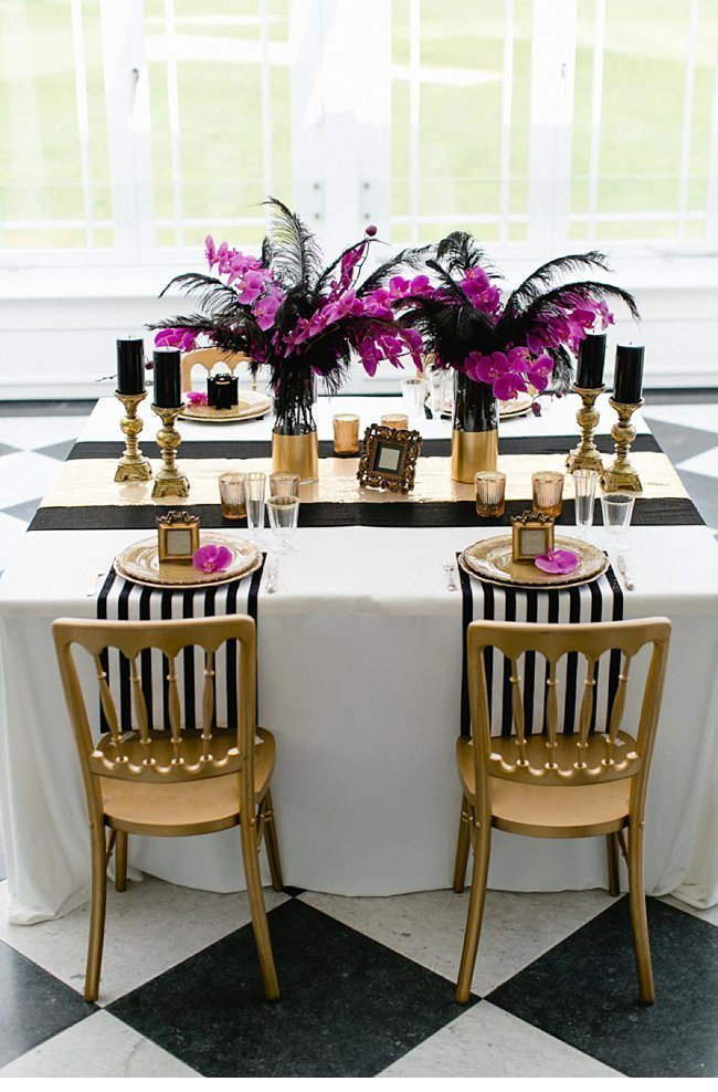gold black wedding inspiration 0015