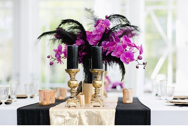 gold black wedding inspiration 0031
