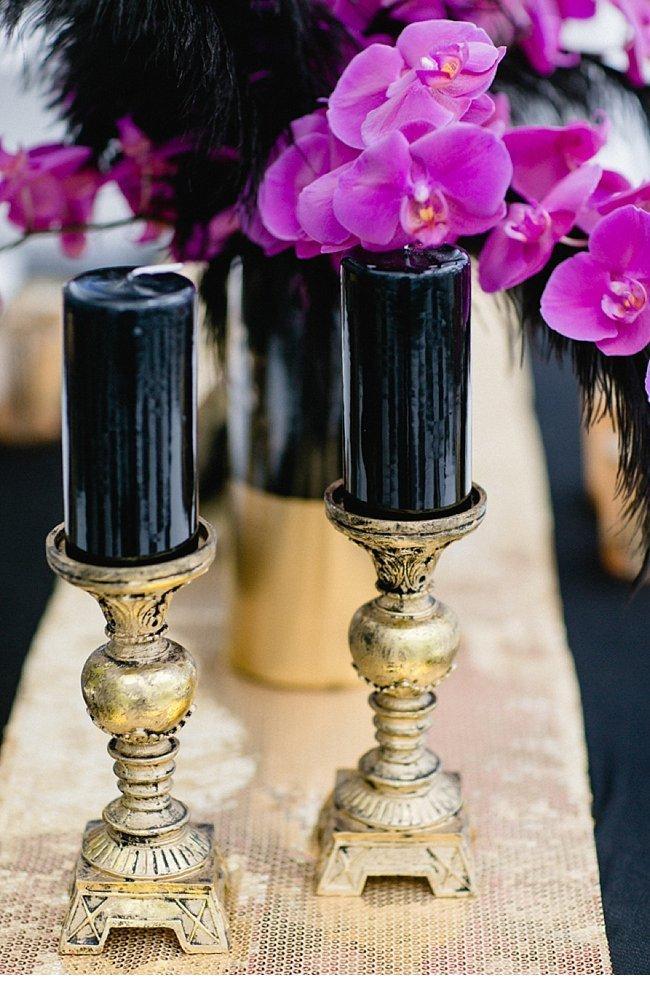 gold black wedding inspiration 0041
