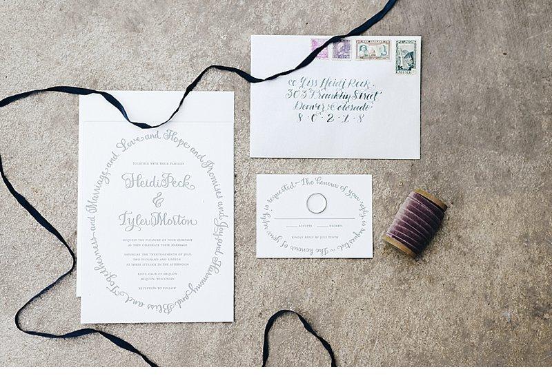 romantic natural wedding inspiration 0003