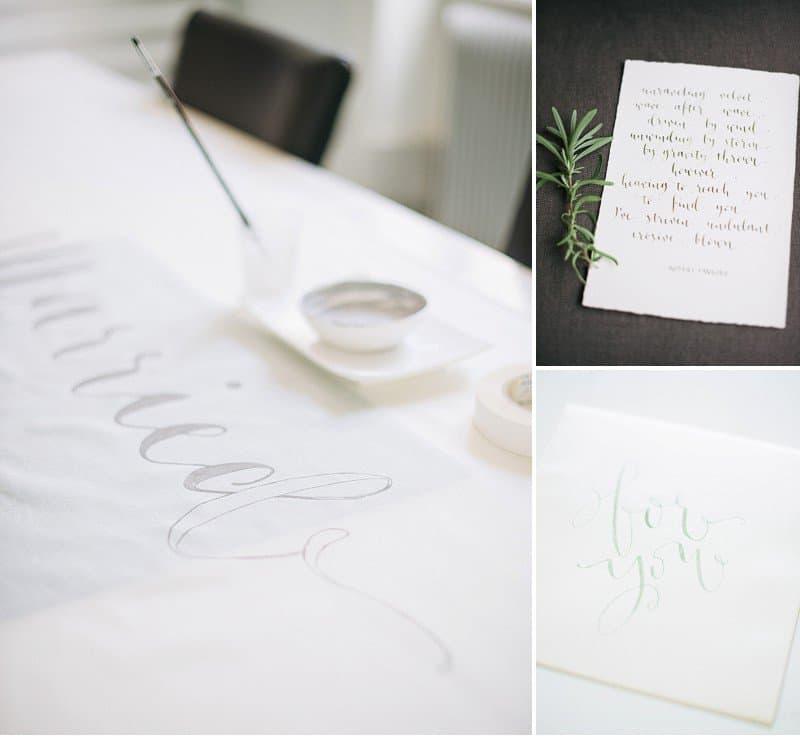calligraphy wedding invitation 0005
