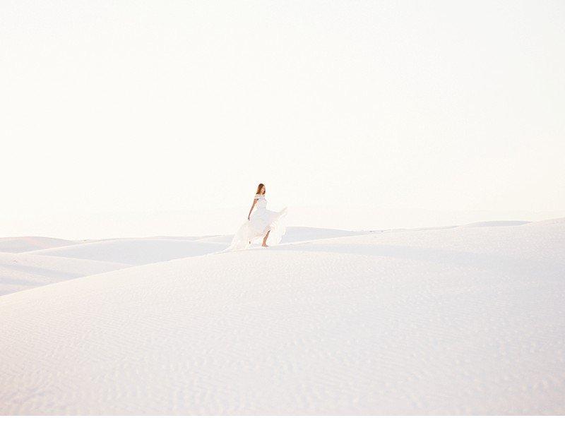 white sands bridal desert shoot 0004a