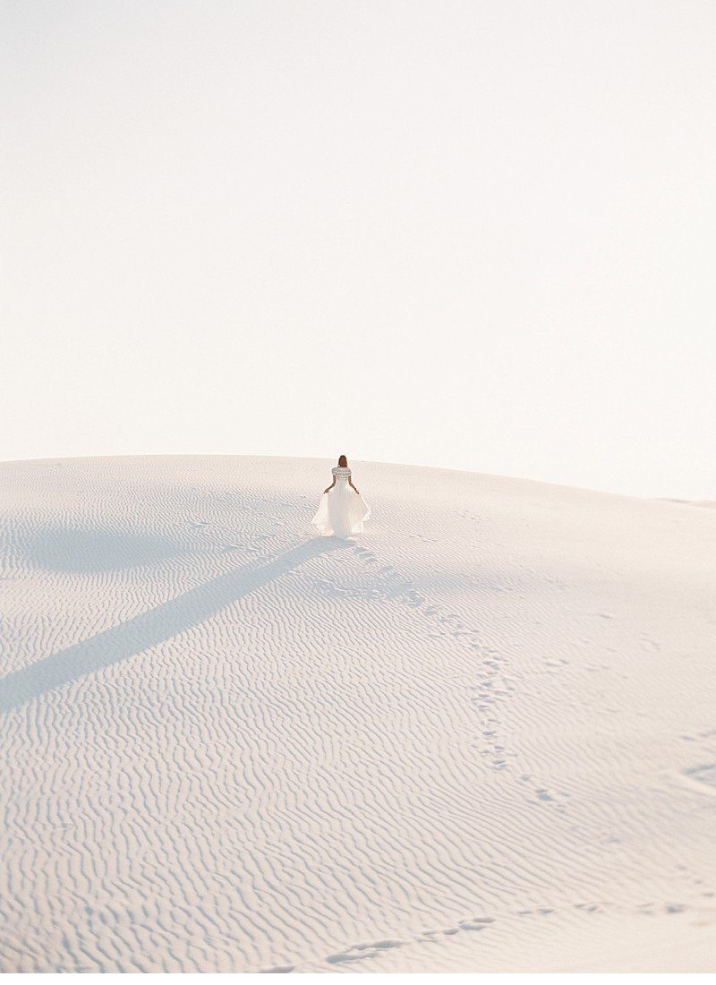 white sands bridal desert shoot 0013
