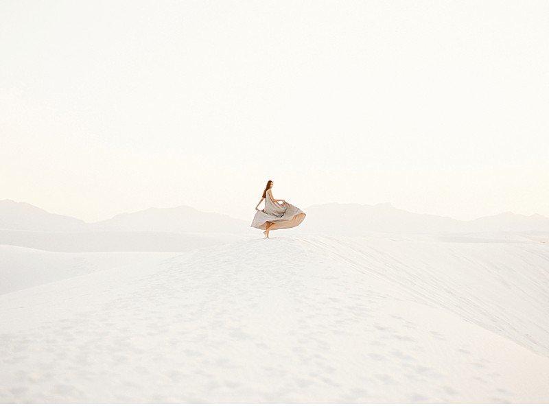 white sands bridal desert shoot 0028