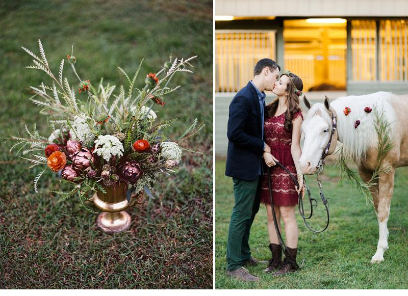 winter inspired engagment party 0015