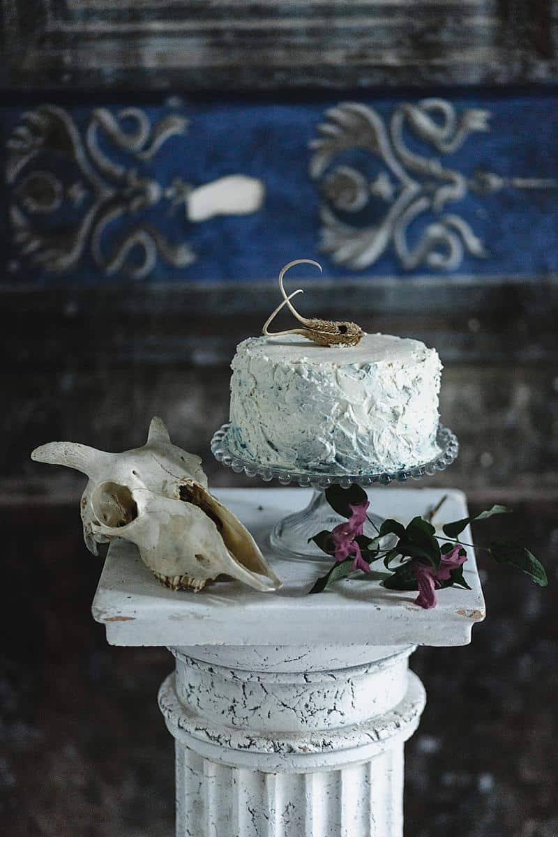 flowers and bones wedding inspirations 0005