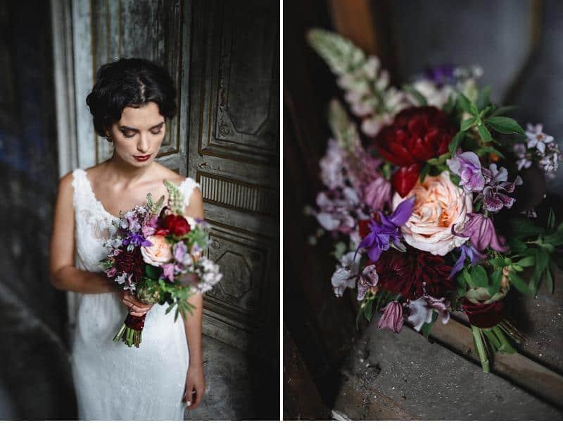flowers and bones wedding inspirations 0019
