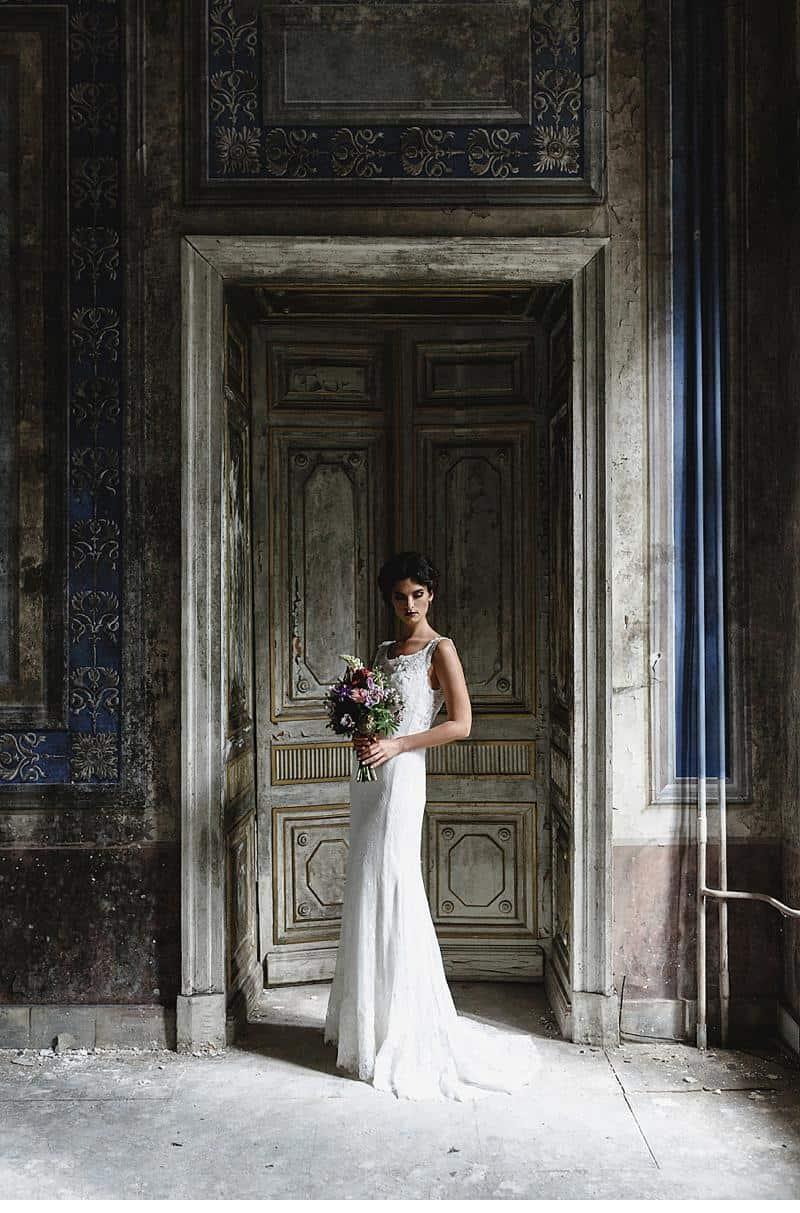 flowers and bones wedding inspirations 0026