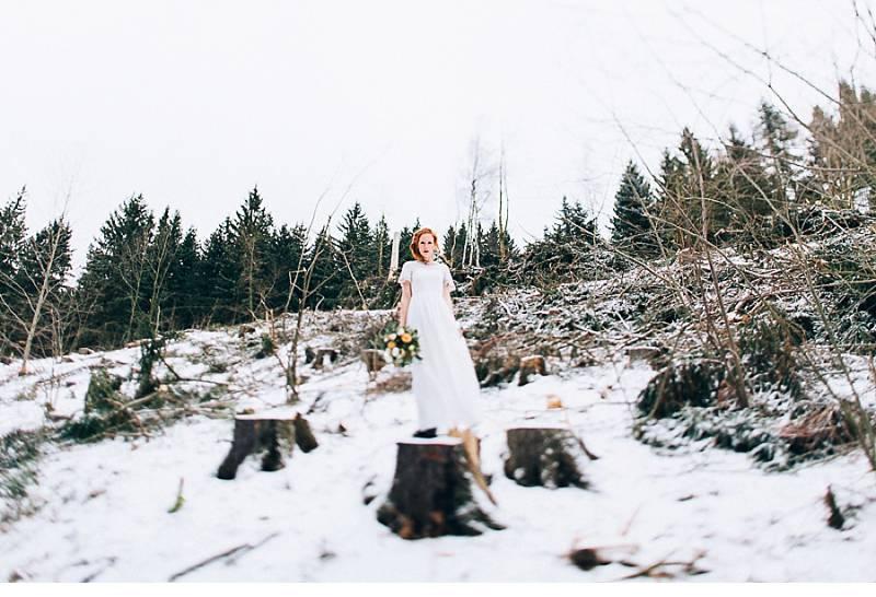 winterbraut inspirationen im schnee 0011