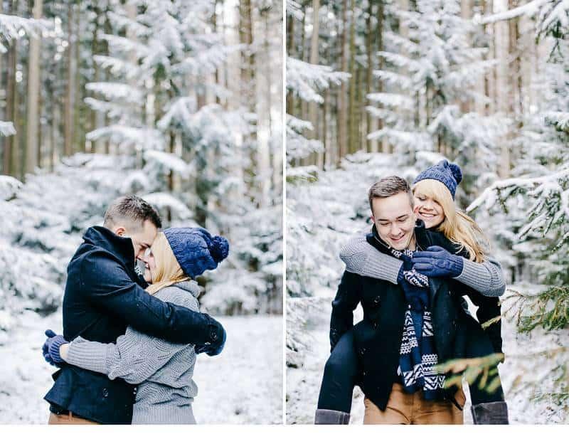 engagement im schnee 0002